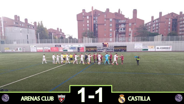 ARE 1 - 1 CAS: Agridulce punto en el norte