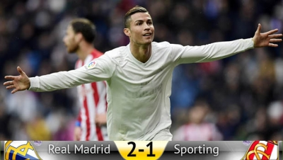 RM 2 - 1 SPO: Cristiano regala un Black Saturday