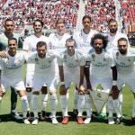 El XI inicial del Real Madrid en el debut madridista 2017 ante el Manchester United