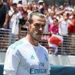 Bale en el debut madridista 2017 ante el Manchester United