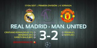 Resumen Real Madrid-Manchester United, Liga