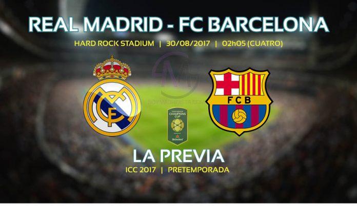 Real Madrid - FCB, la previa