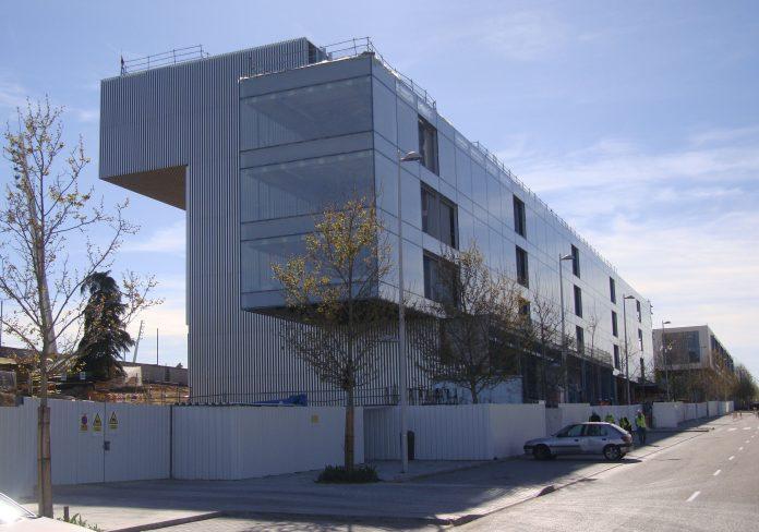 Oficinas del Real Madrid en Valdebebas