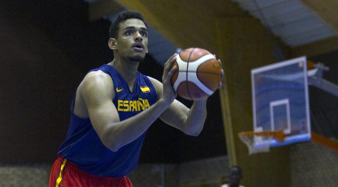 Sebas Sáiz, con la selección española