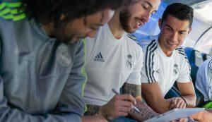 Marcelo, Ramos y Cristiano
