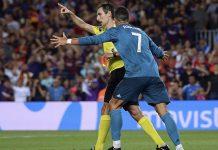 De Burgos Bengoetxea y Cristiano Ronaldo