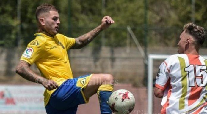 Agoney González Las Palmas Atlético