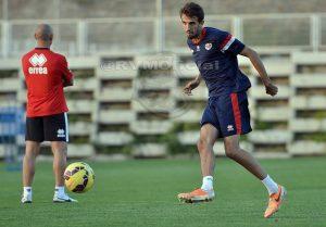 Sergio entrenamiento Rayo