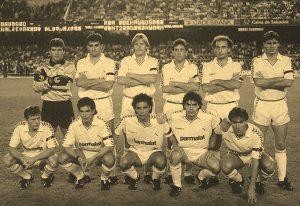 XI en el Camp Nou