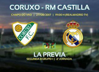 Previa Coruxo Real Madrid Castilla