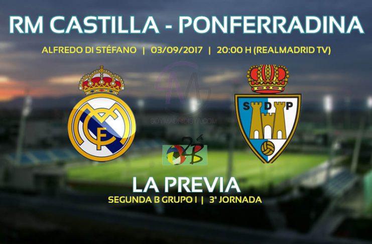 Previa Castilla vs Ponferradina