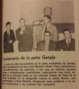 La Peña Madridista de Getafe