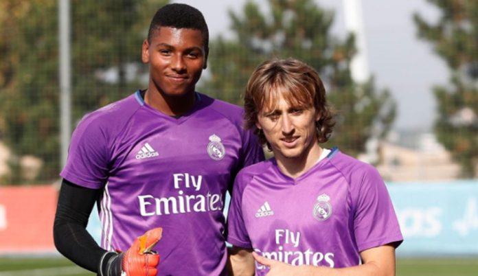 Moha Ramos y Luka Modric