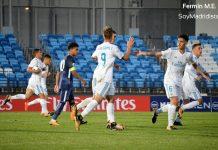 Dani Gómez celebra el gol