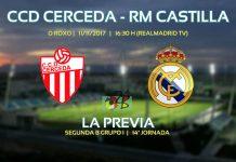 Portada previa partido Cerceda vs Castilla