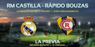 Real Madrid Castilla Rápido de Bouzas