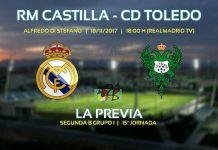 El Castilla se enfentará al Toledo en uno de los grandes duelos