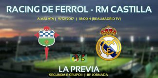 Portada previa Racing de Ferrol vs Castilla