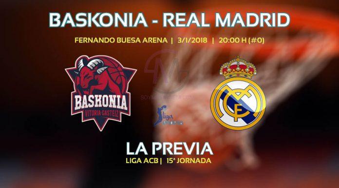 Partido Baskonia vs Real Madrid ACB