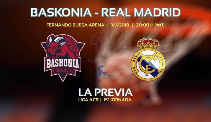 Partido Baskonia vs Real Madrid ACB