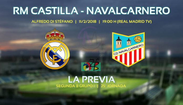 Portada partido Castilla contra Navalcarnero