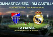 Previa partido Gimnástica y Real Madrid Castilla