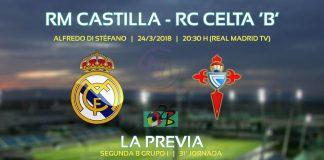 Partido Castilla vs Celta B