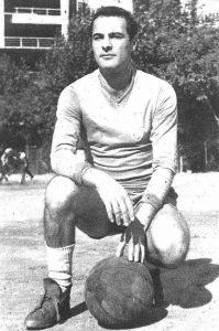 Pedro Casado en el campo de entrenamiento del Bernabéu